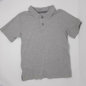 Gymboree Shirts & Tops - Gymboree Gray Short Sleeve Polo Shirt Boy's Size 5